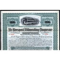 Pennsylvania - McKeesport, Wilmerding & Duquesne Railway Co. Bond