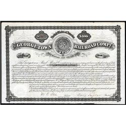 Texas - Georgetown Railroad Company Bond.