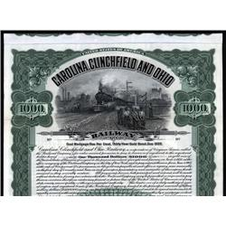 Virginia - Carolina Clinchfield and Ohio Railway Co. Bond
