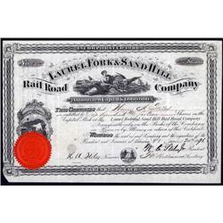 West Virginia - Laurel Forks & Sand Hill Rail Road Co. Stock Certificate.