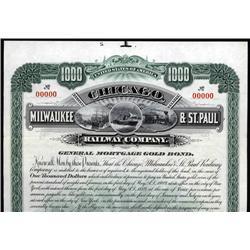 Wisconsin - Chicago, Milwaukee & St. Paul Railway Company.