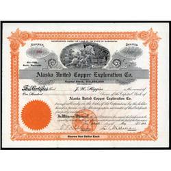 Alaska - Alaska United Copper Exploration Co.