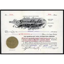 Arizona - Searchlight Gold Extraction Company.