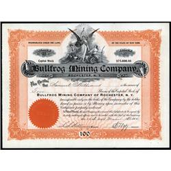 Nevada - Bullfrog Mining Co. of Rochester N.Y.