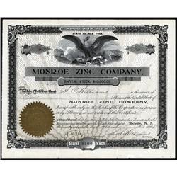 New York - Monroe Zinc Co.