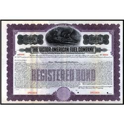 New York - Victor-American Fuel Company.