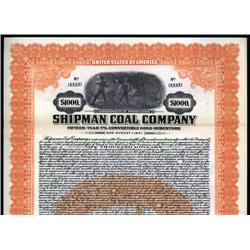 Pennsylvania - Shipman Coal Company.