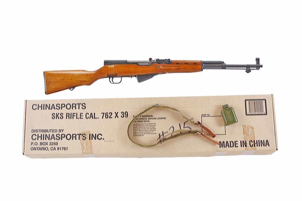 China Sports SKS Cal 7 62x39 SN:24079220 Semi auto sporting rifle