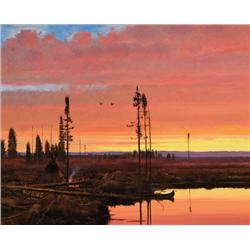 Coleman, Michael - Canadian Sunset (b. 1946)