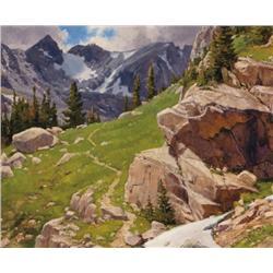 Oberg, Ralph - In the Rockies (b. 1950)