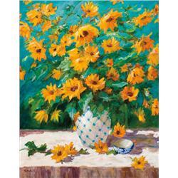 Goodall, Dawn - Wild Sunflowers (20th Century)