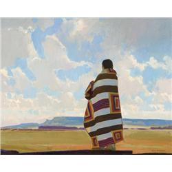 Roberts, Ray  - Navajo Land (b. 1954)