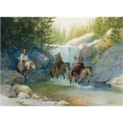 Halbach, David - Lakotas on Clark's Fork (b. 1931)