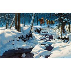 Leone, John - First Snow (b. 1929)