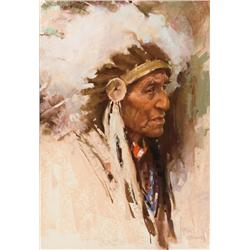Brown, Harley - Man From the Blackfoot Crossing (b. 1939)