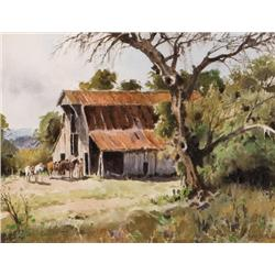 Boren, James - The Hay Barn (1921-1990)