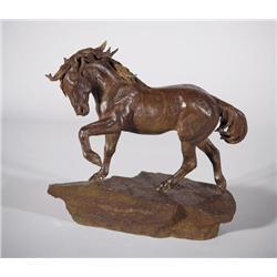 Rigden, Cynthia - War Horse I (b. 1943)