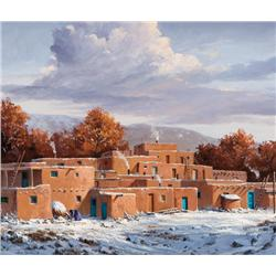 Falk, Joni - Winter Snows-Taos (b. 1933)