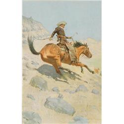 Remington, Frederic - The Cowboy (1861-1909)