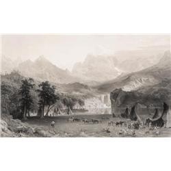 Bierstadt, Albert - The Rocky Mountains (1830-1902)