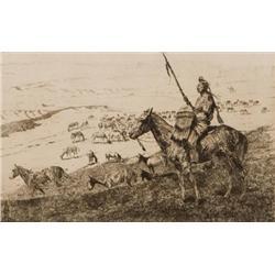 Borein, Edward - Crow Horse Guard (1872-1945)