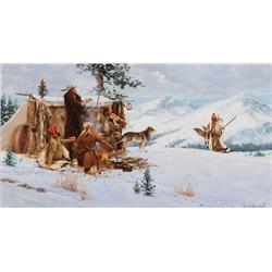 Johnson, Harvey - A Mountain Man's Christmas (1921-2005)
