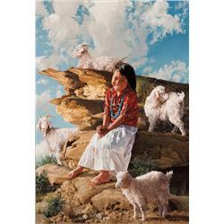 Swanson, Ray - Tuba City Goat Tender (1937-2004)