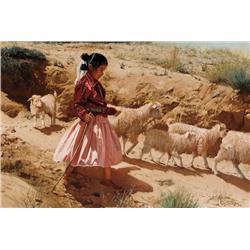 Swanson, Ray - Herding Grandma's Flock (1937-2004)