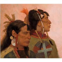 Riley, Kenneth - Tribal Brothers (b. 1919)