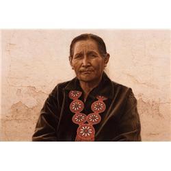 Bama, James - A Navajo Woman (b. 1926)