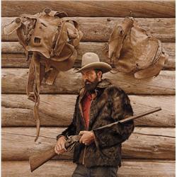 Bama, James - Bob Edgar with Sharps Rifle (b. 1926)
