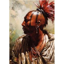 Griffing, Robert - Mohawk (b. 1940)