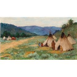Sharp, Joseph H. - Summer Camp (1859-1953)
