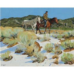 Ufer, Walter - Across the Arroyo (1876-1936)