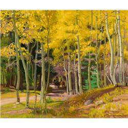 Hennings, E. Martin - Along the Canyon Road (1886-1956)