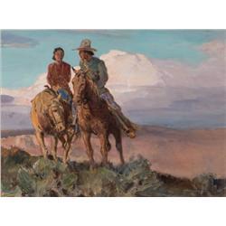 Borg, Carl Oscar - Navajo Courtship (1879-1947)