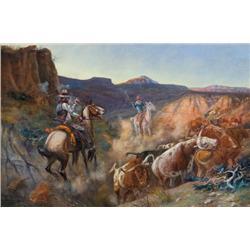Seltzer, O.C. - Stampeding Herd (1877-1957)