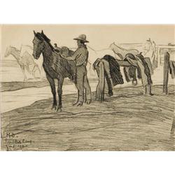Dixon, Maynard - Sandhill Camp (1875-1946)