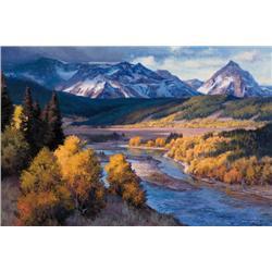 Godfrey, Michael - Montana Valley, 2007 (b. 1958)