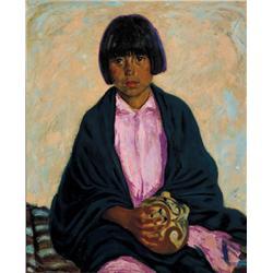 Fleck, Joseph - Desert Flower (1892-1977)