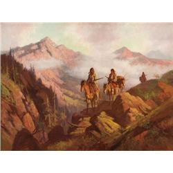 Coutts, Gordon - Return from the Hunt (1868-1937)