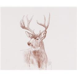 Kuhn, Bob - Buck Deer (1920-2007)
