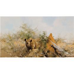 Shepherd, David - Rhino (b. 1931)