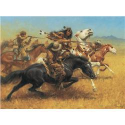 Thomas, Andy - Blackfeet and the Mountain Men (b. 1957)