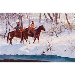 Norton, Jim - Snow on Currant Creek (b. 1953)