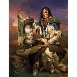 Ahrendt, William - Sacajawea and Pomp (b. 1933)