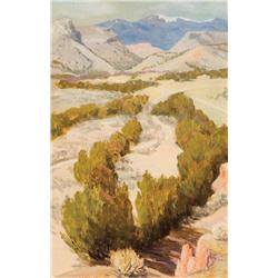 Parsons, Sheldon - On the Way to the Puye (1866-1943)