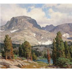 Aspevig, Clyde - Approach to Pass Lake- Wind River Range, Wyoming 2007 (b. 1951)
