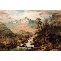 Bromley, Frank Clark - Sierra Blanca - Sangre de Christa Range Colorado (1859-1890)