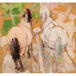 Gaspard, Leon - Russian Horses (1882-1964)
